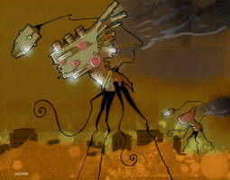 Martian War Machine by glittergodzilla