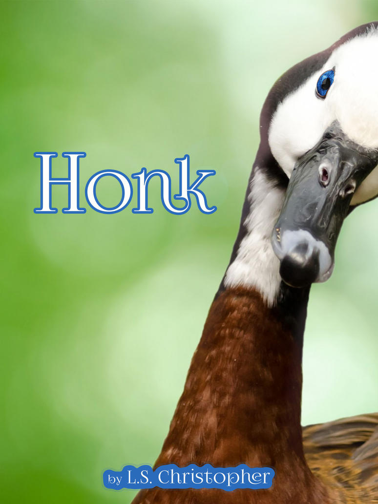 Honk book cover by GothKittyLady