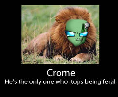 Crome demotivational poster by dragonfire1000
