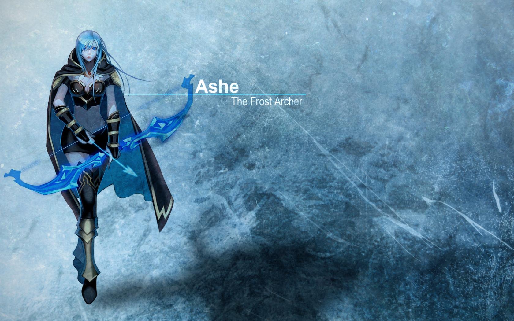 Ashe - League of Legend. by Jmpv