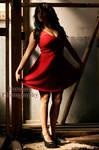 SoniaF01, Red Dress XI