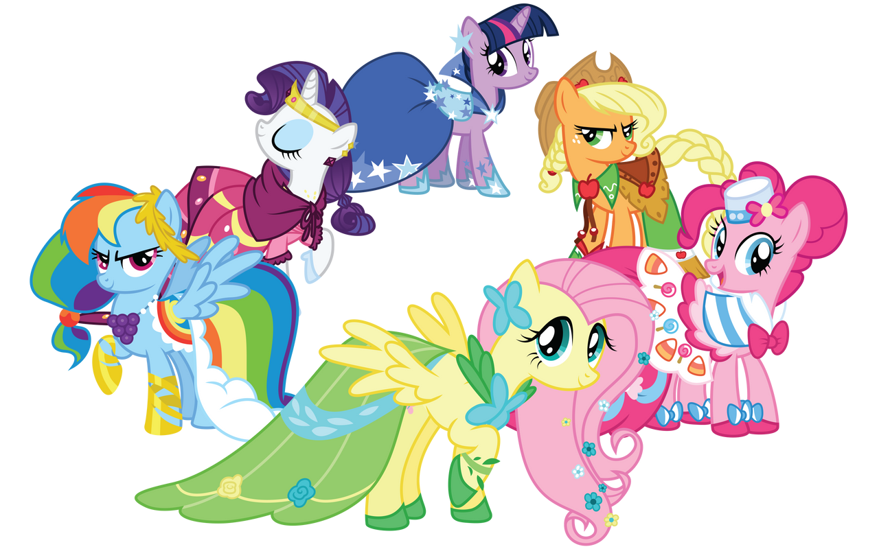 My little pony friendship is magic coloring pages best night ever