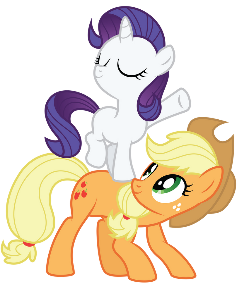 My little pony filly rarity - photo#16