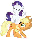 AJ and Filly Rarity