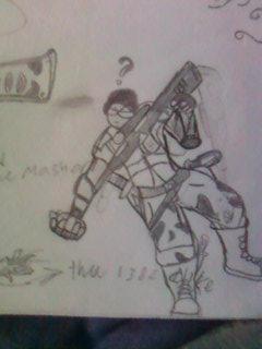 funny random Character by ScottPendragon