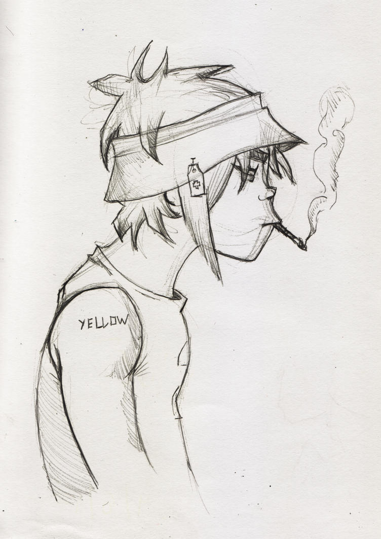 2D sketch by MrYellow7...