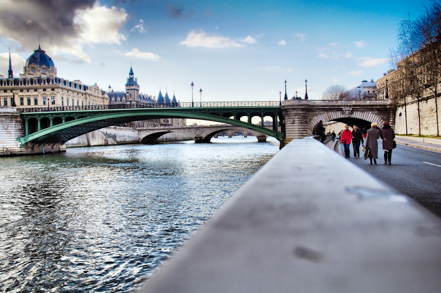 Seine bridges in Paris - HDR by spinal123