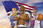 KOF USA team