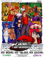 THE RAGE - poster ver. 1.1 by mrvo