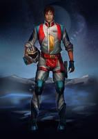 CW Starscream (humanized) by Valong