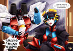 The Buzz On Windblade`s New Baby
