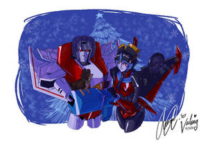 A Christmas Present For Starscream
