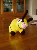 Shiny Crochet Tepig Plushie by Taikxo