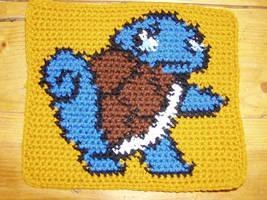 Crochet Squrtle Square by Taikxo