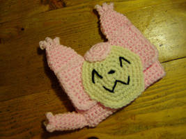 Crochet Skitty DS Case by Taikxo