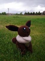 Crochet Eevee Plushie by Taikxo