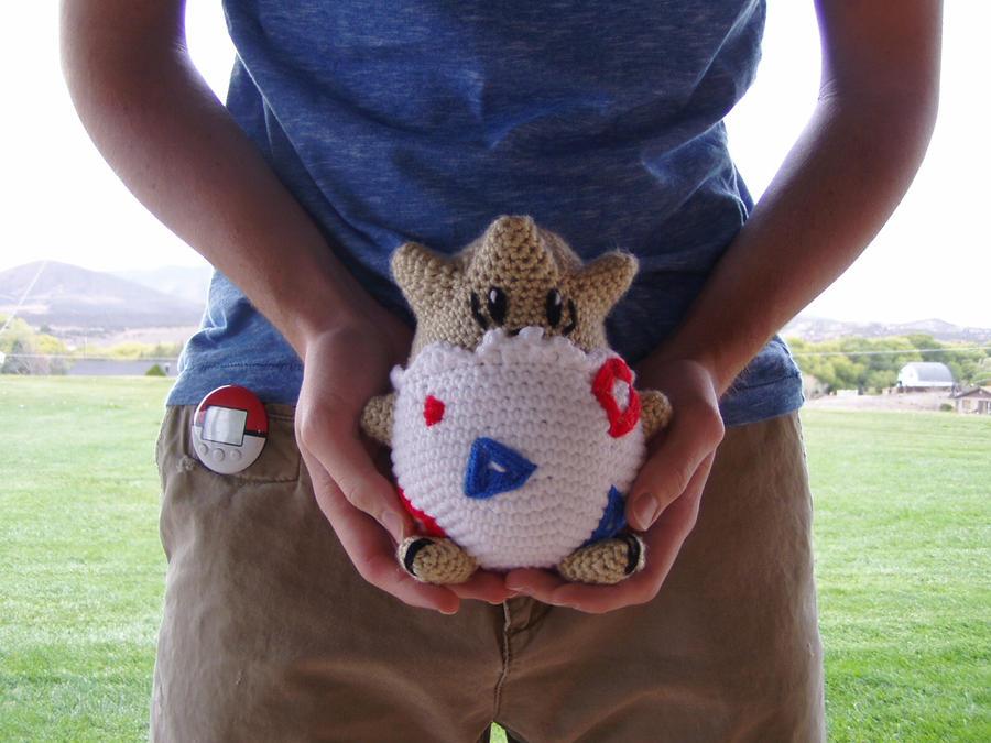 Crochet Togepi Plushie by Taikxo
