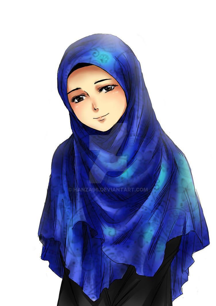 Anime in hijab hijab style 6