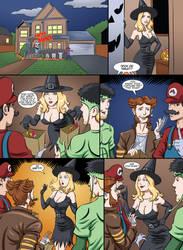 Halloween Story Pg 1 by HerFalseFace