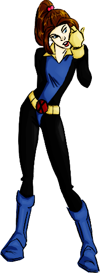 X-Men Evolution: Shadowcat by haymanda on DeviantArt