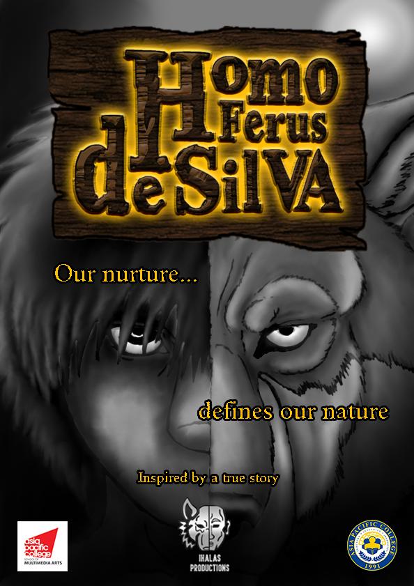Homo Ferus de Silva poster by FeralWolfChild