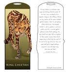 King Cheetah Bookmark