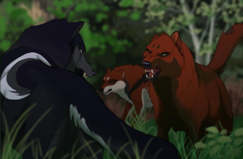 Blutwald vs Aryn by DawnFrost