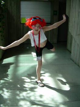 Ed! Cowboy Bebop cosplayer