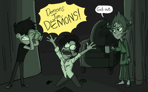 DEMONS!!! by superloveharrypotter