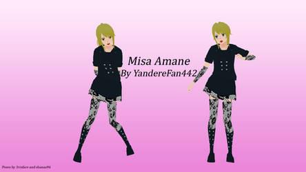 Misa Amane Skin by YandereFan442