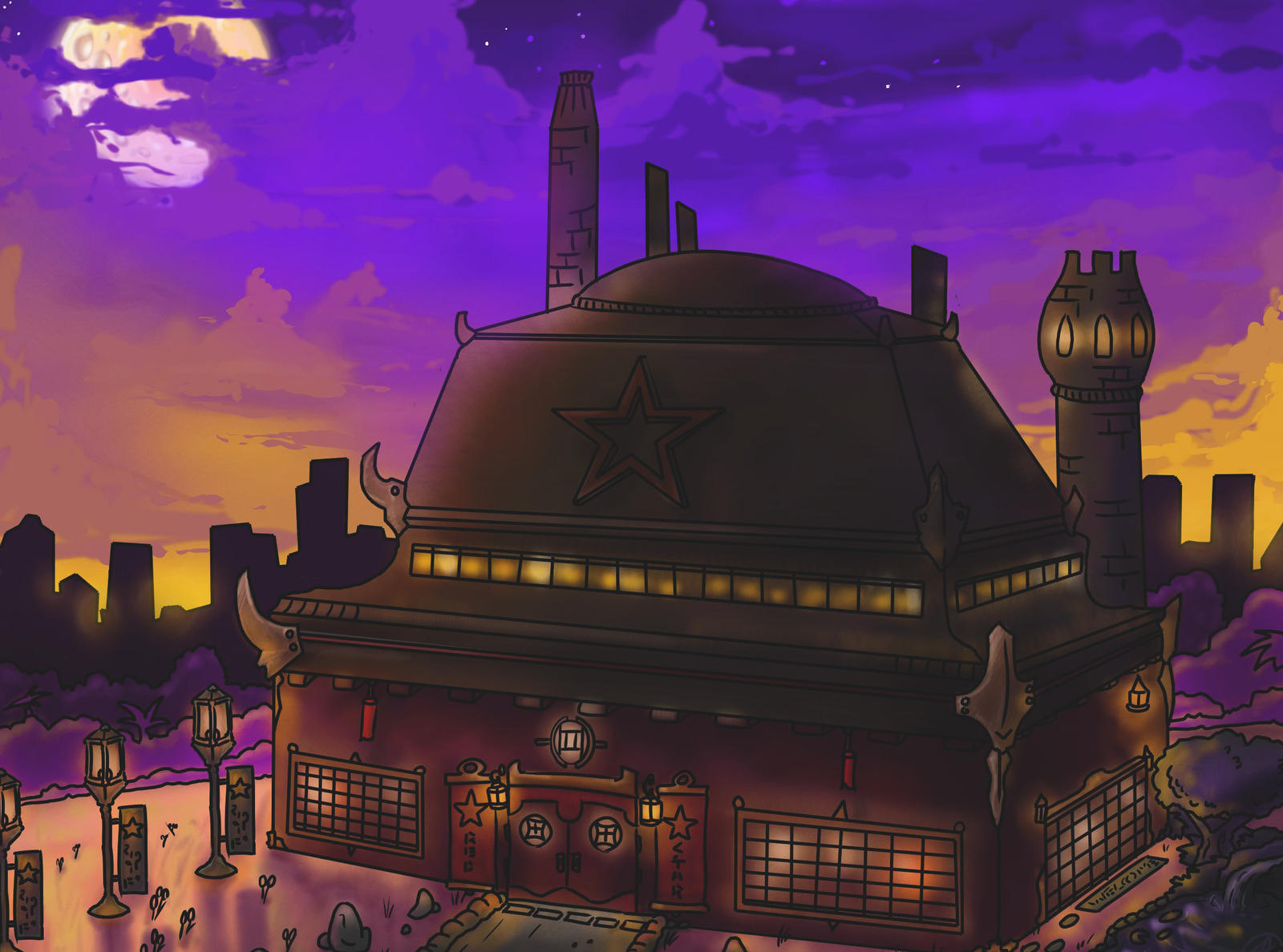 Khan's Tavern by chevy1616