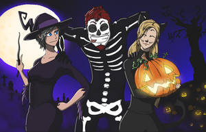 Happy Halloween! Team B!! by chevy1616