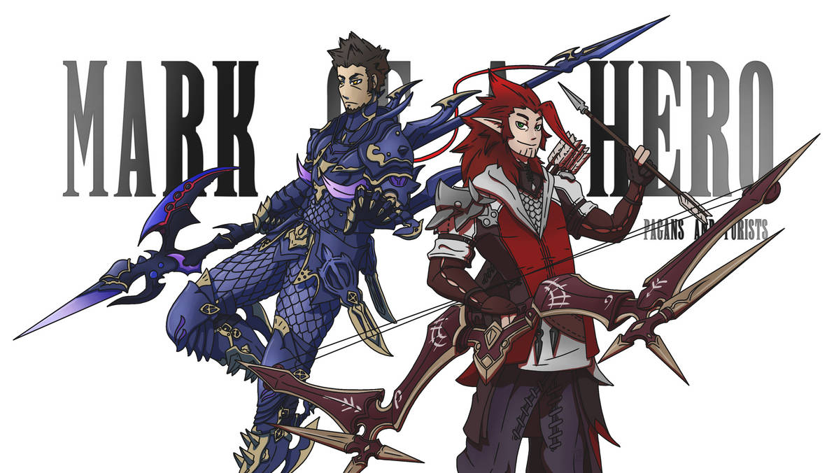 Final Fantasy+Mark of a Hero by chevy1616
