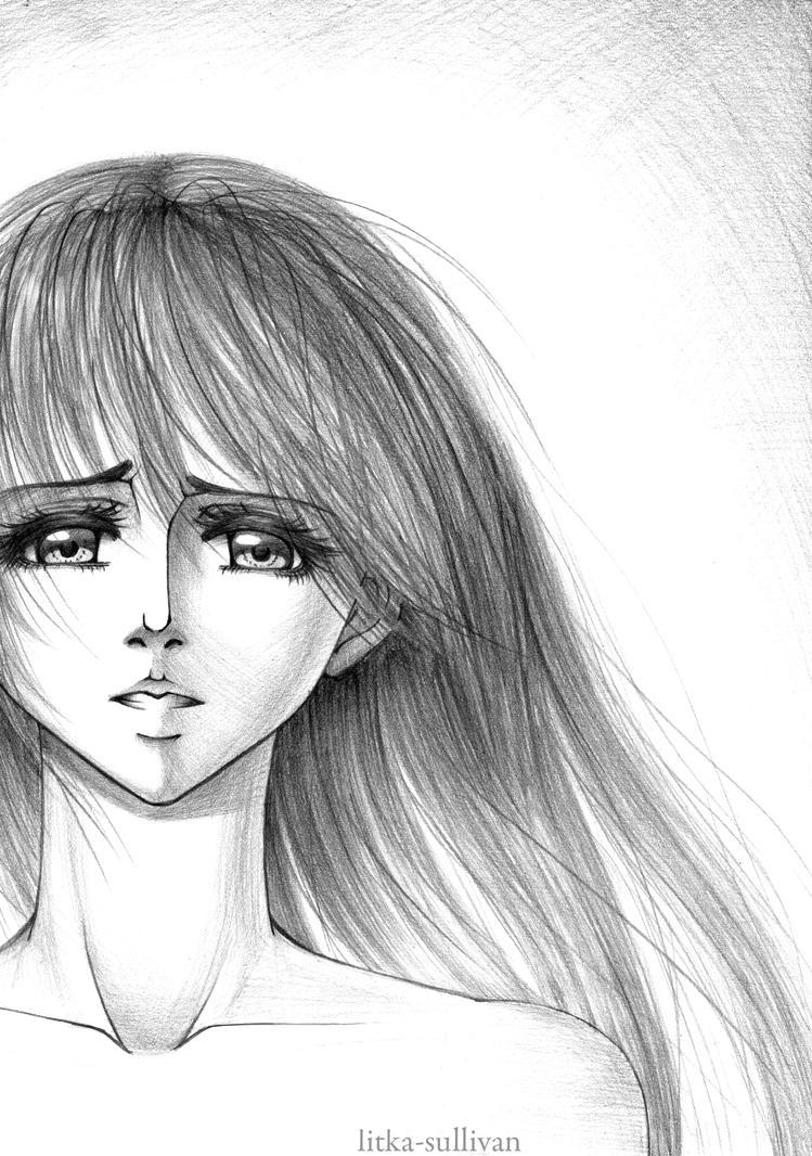 Depressed Girl Drawing | www.imgkid.com - The Image Kid ...