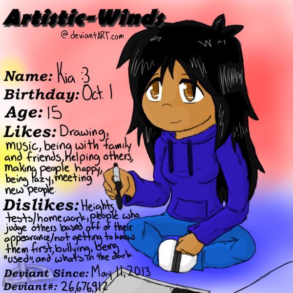 Artistic-Winds' DevID #1 by Artistic-Winds