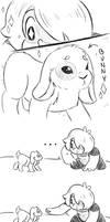 Day 105: Bunny Cuddling