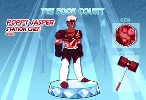 [The-Food-Court] - Poppy Jasper [Profile] by CrystalStars350