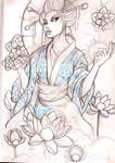 geisha 10 sketch