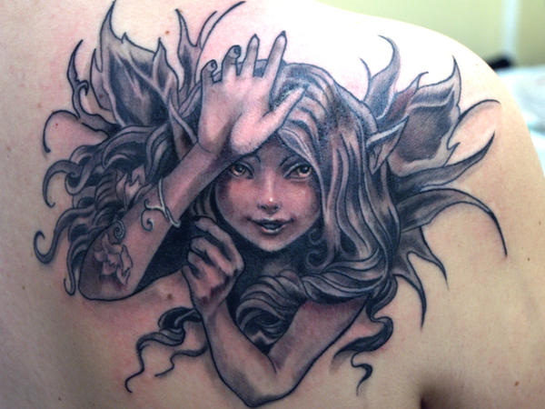 fairy tattoo 4