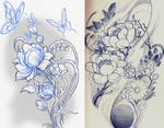 lotus sketchs