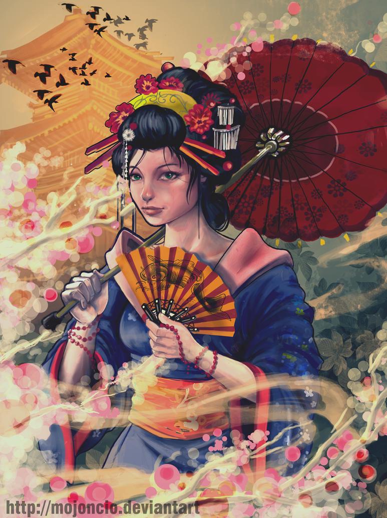 geisha 15 by mojoncio