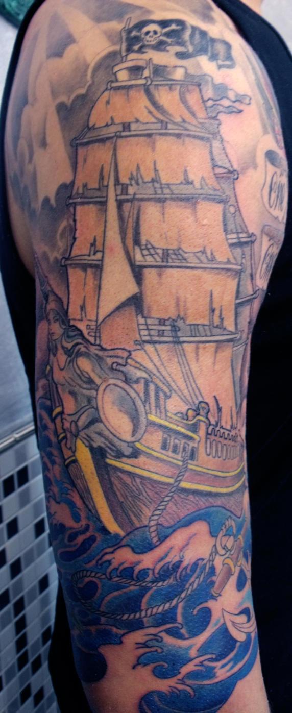 ship in progress by mojoncio