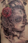 day of the dead tattoo 3