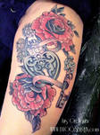 heart locker tattoo by mojoncio
