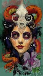 day of the dead girl by mojoncio
