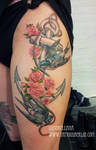 swallows and anchor tattoo