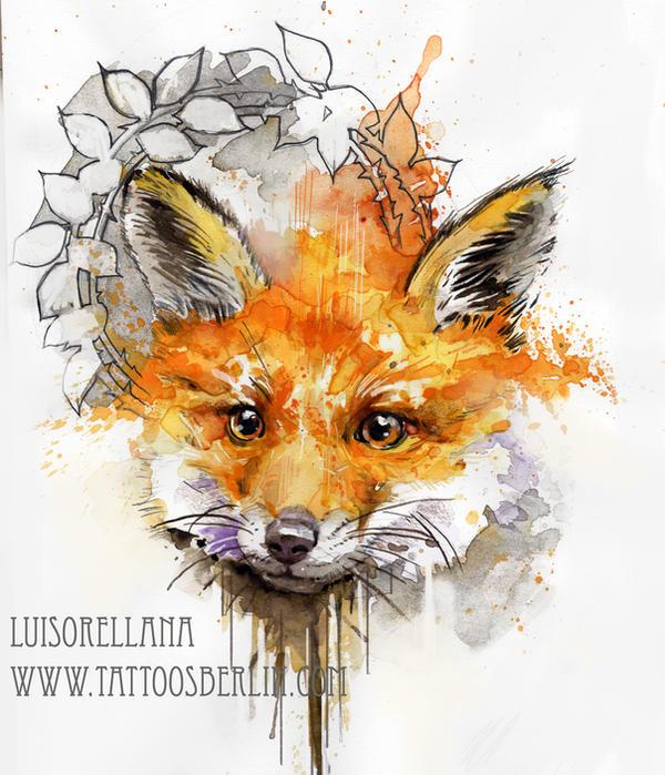 fox sketch by mojoncio