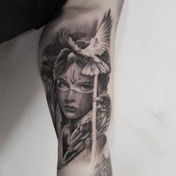Crowgirl by mojoncio