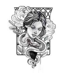 Snakecuadrat by mojoncio