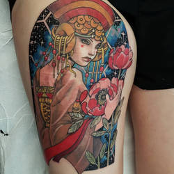 Princess amidala tattoo by mojoncio